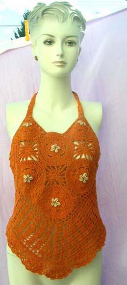 clothing bali crochet top, wholesale bali crochet handmade top