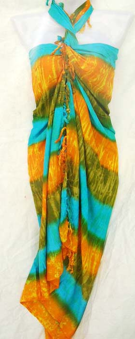 Vacation clothing boutique factory imports handcrafted indonesian beach sarong shawl