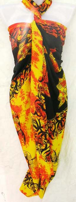 Dolphin Lovers Sarong Skirt From Import Supply Warehouse