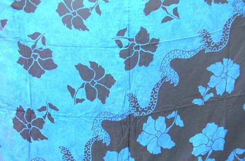 Summer bali shawl with floral pattern imported by fashion wholesale supply b2b trader
