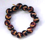 Bracelet jewelry manufacturer wholesale --  Fashion bracelet with brown beaded pattern
