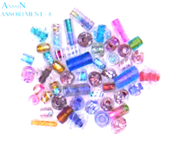 Bead distributor wholesale online - Multi color bead with assorted shape and size