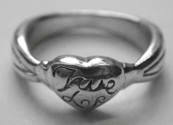 Online wholesale supplies ring jewelry - Fashion style sterling silver ring with word