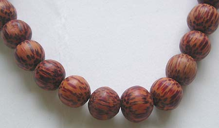Online religious necklace wholesale - Old fashion style Bali necklace with wooden bead design