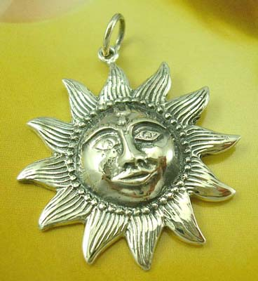 Gift for sun lover pendant collection wholesaler sterling silver sun jewelry gift for sun lover pendant collection wholesaler sterling silver sun pendant with a happy face mozeypictures Images