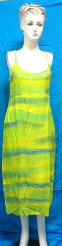 Wholesale US supplier supply Balinese lady's tie dye dress