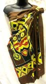 Wholesale Indonesian tribal art designed summer pareo sarong dress distribution company