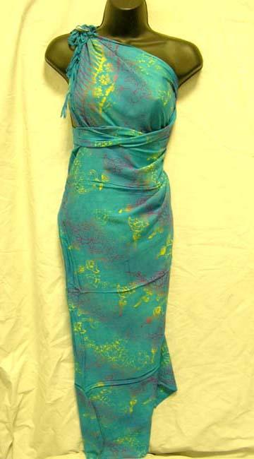 Rayon Solid Print Batik Sarongs And Pareos From Bali | Rachael Edwards