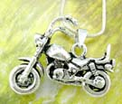 Modern jewelry trends fashion wholesale supply motorcycle sterling silver pendant