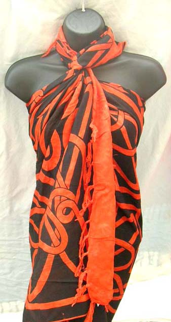 Exotic import exchange company distribute unique celtic art crafted summer sarong skirt
