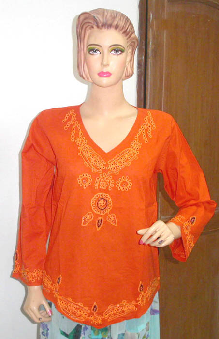 bca2afa7d1 Clothing gallery online women's clothing warehouse wholsale indian  embriodery style rayon shirt top