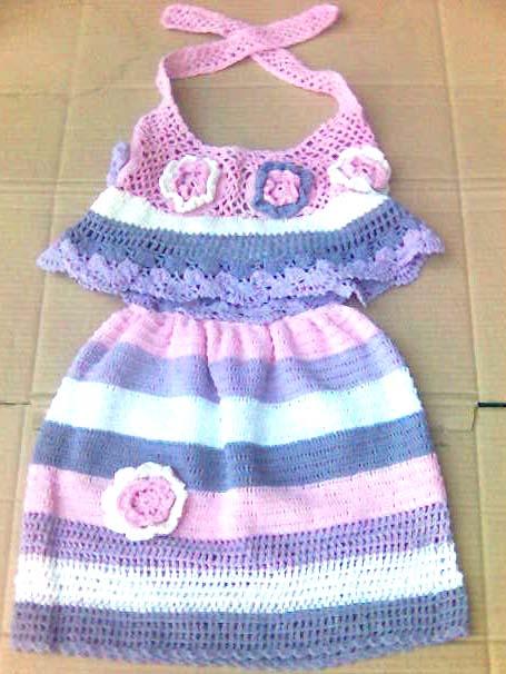 KIDS CROCHET DRESS How To Crochet