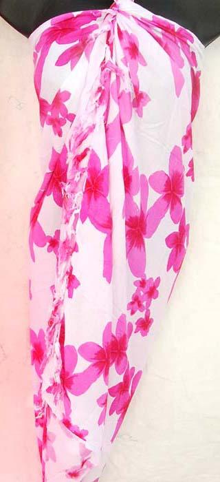 Fashion Supplier Apparel Sarong Announces The New: Urban Beach Wear Wholesaler Exports Sexy Sarongs, Floral