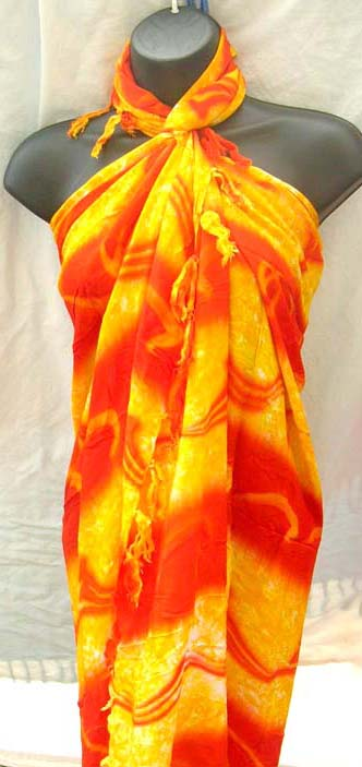 Fashion Supplier Apparel Sarong Announces The New: Bali Import Wholesale Supplier Distributes Quality Tie Dye